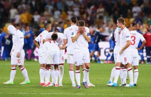 england exit the euro 2012 competition
