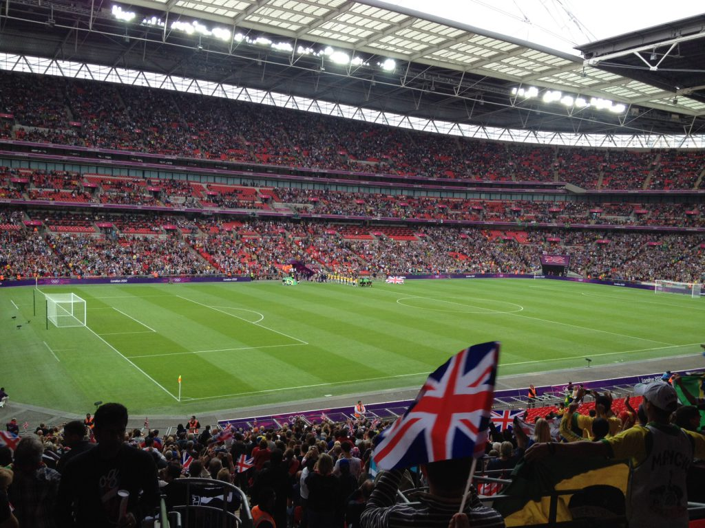 Great Britain Ladies v Brazil, Olympics 2012