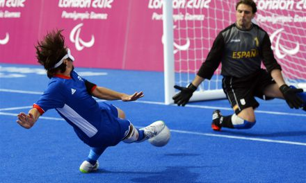 Paralympic Football Makes Me Smile Again