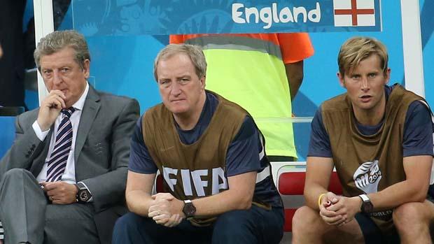 Roy Hodgson, Ray Lewington, Dave Watson