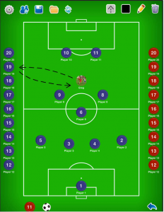 Coach Tactical Board for Football (Soccer)