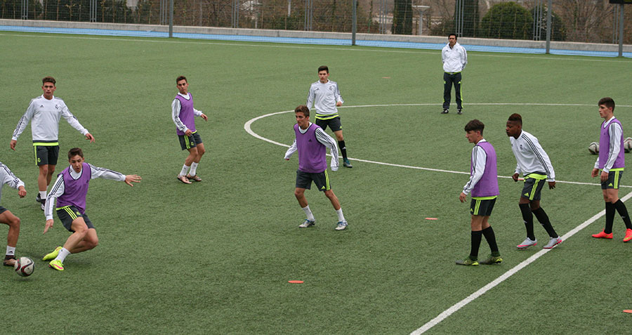 Real Madrid u17 Training Session